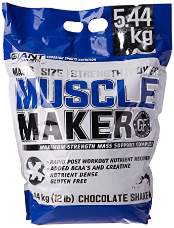9f29fe07 Giant Sports Muscle Maker Gainer Protein, Maximum Strength Mass ...