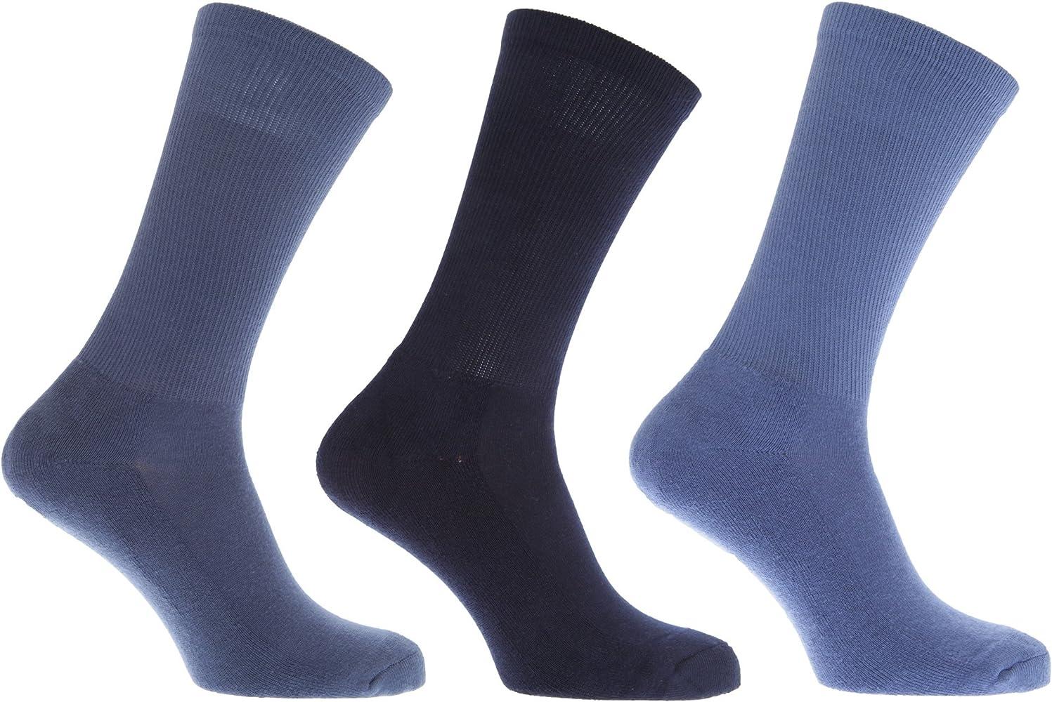 FLOSO - Calcetines con suela acolchada con alto porcentaje en ...