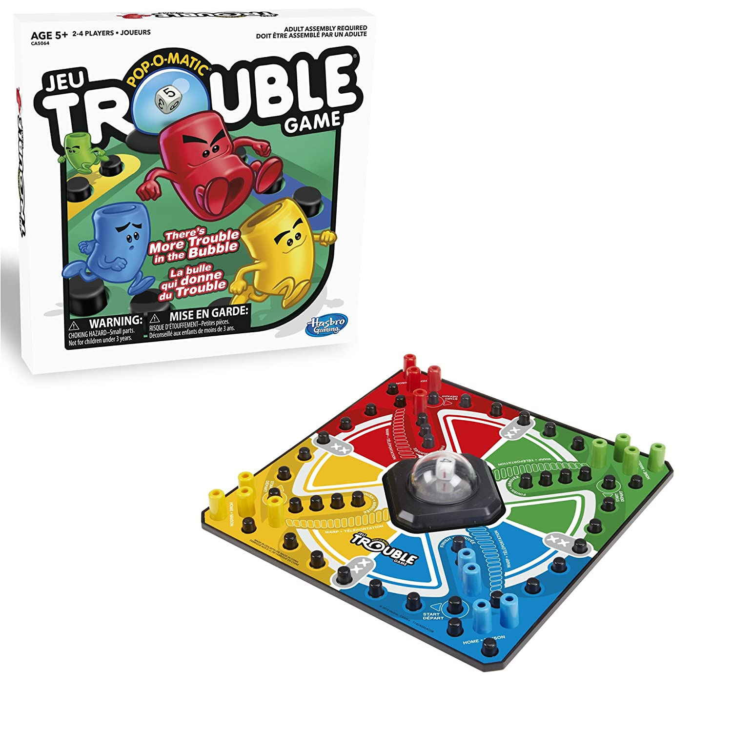 Hasbro Gaming Trouble Board Game A5064035