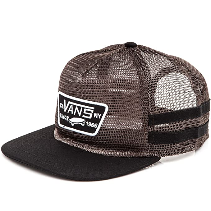 cc1da3e40e6 Image Unavailable. Image not available for. Color  Vans Off The Wall Men s  Munger Snapback Trucker Hat ...