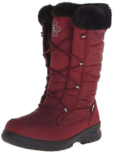 Kamik Women's Newyork2 Insulated Winter Boot, Dark Red, ...