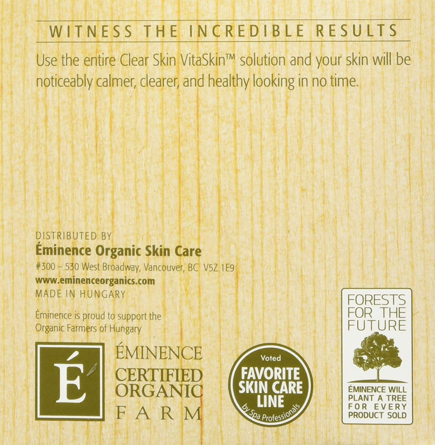 Amazon.com : Eminence Clear Skin Probiotic Masque Skin Care, 2 Ounce :  Facial Masks : Beauty