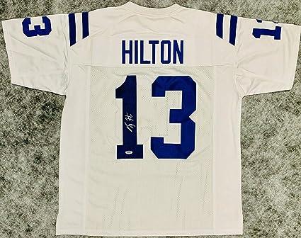 buy online 8da62 39fb1 Signed T.Y. Hilton Jersey - TY White White Beckett COA - PSA ...