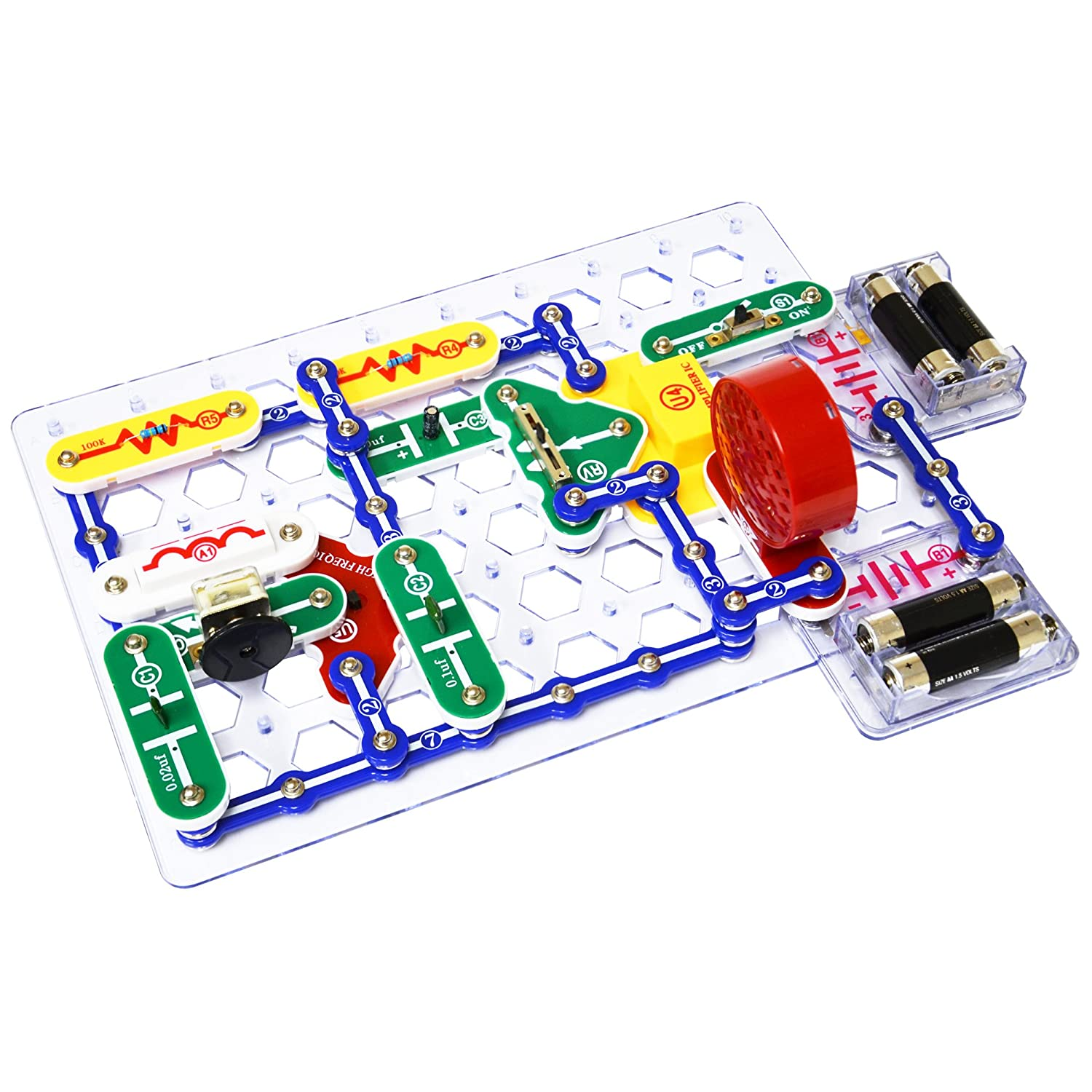 Snap Circuits Sc 300 Electronics Discovery Kit Kits Basic Toys For Kids Jr 100 Amazon Canada