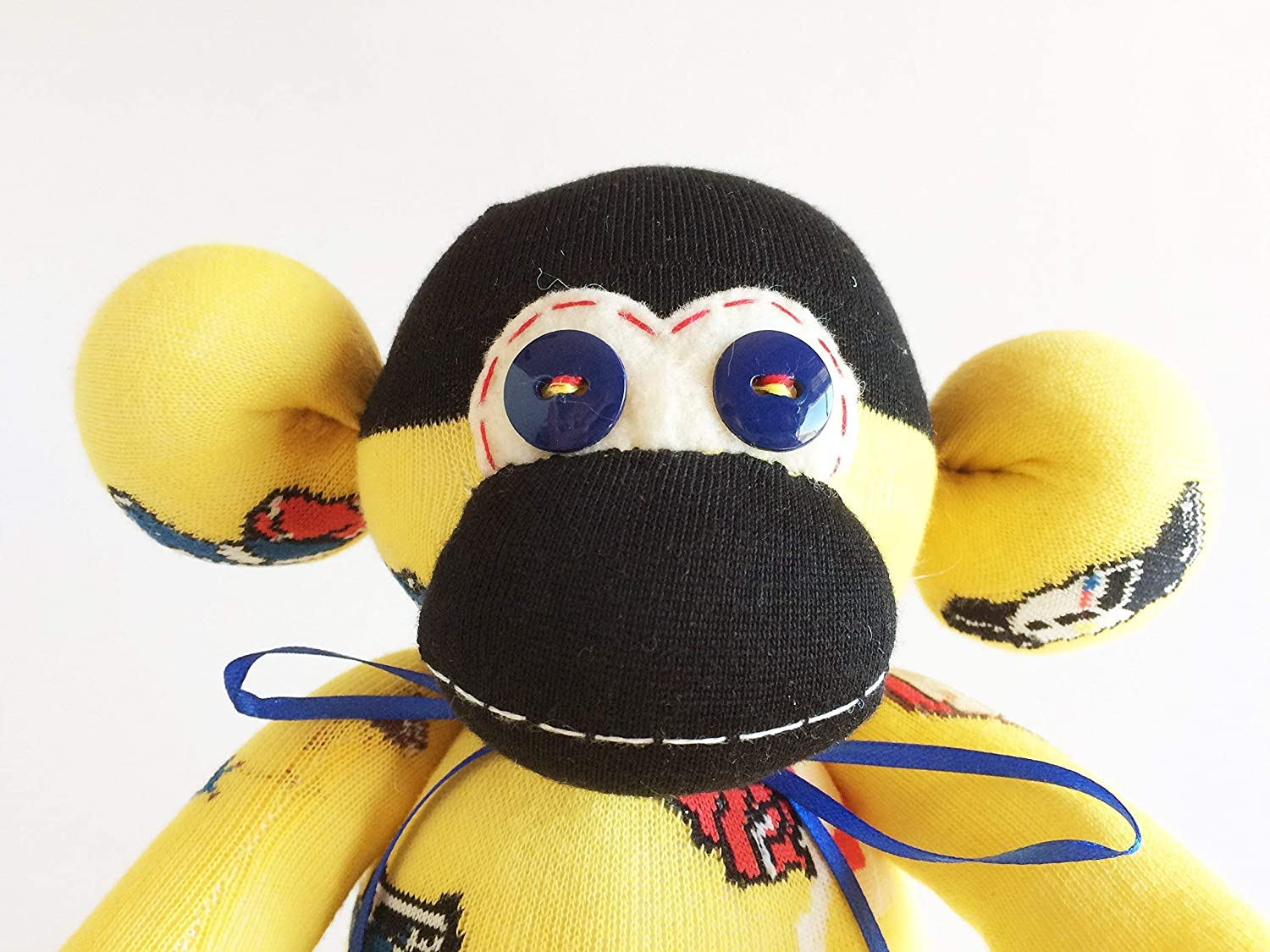 Long Sock Monkey Attack of the 50ft Woman Yellow Sock Monkey Woman Woman Cops Tall Woman Sock Monkey