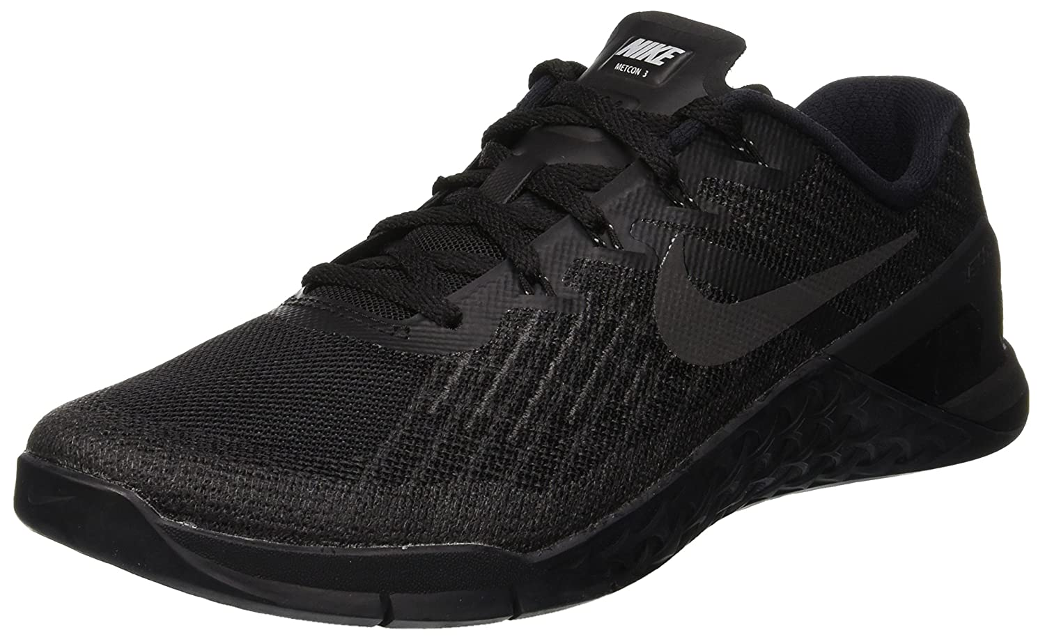 Nike Metcon 3 Mens Training Shoes B01HSDL3TI 8.5 D(M) US|Black/Black