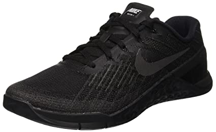 fc9bca54d312 Amazon.com  Nike Men s Metcon 3 Training Shoe Black Size 11 M US ...