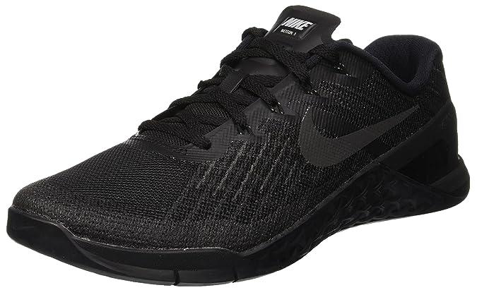 Amazon.com | Nike Mens Metcon 3 Training Shoe Black Size 12 M US | Fitness & Cross-Training