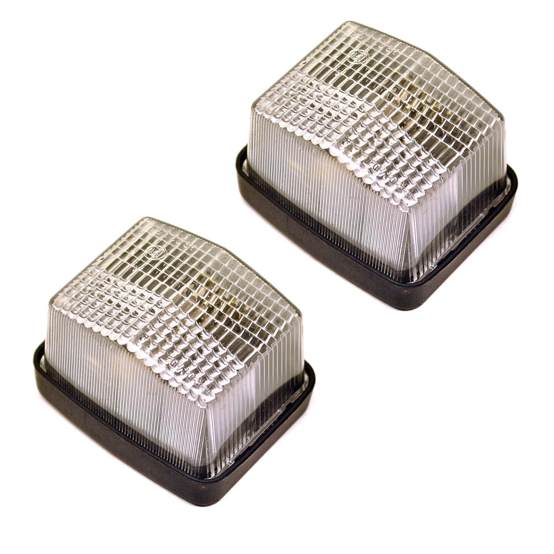 Rimorchio / Caravan luce chiara luce di posizione anteriore 12v coppia TR111 AB Tools