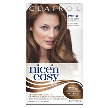 clairol nice n easy 5w118b natural medium caramel brown permanent hair - Clairol Nice And Easy Colors