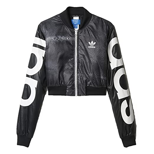 Adidas Originals Rita Ora Mystic Moon Crop Track TT AA3855 Black White  Women s Jacket ( 213917a45a