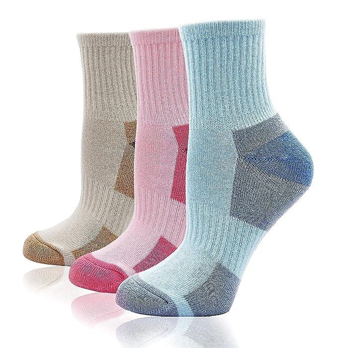 LOFIR Calcetines de algodón de invierno por mujer Calcetines térmicos suaves y cálidos Calcetines de la