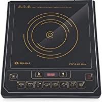 Bajaj Popular Ultra 1400-Watt Induction Cooker (Black)