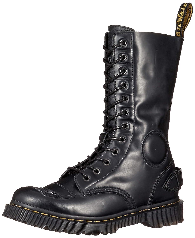 Dr. Martens Fusion Neilson 23702001 schwarz Schwarz 12-Loch Biker Stiefel
