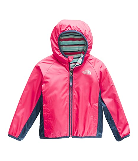 20cb3b4db The North Face Kids Baby Girl's Reversible Breezeway Jacket (Toddler)