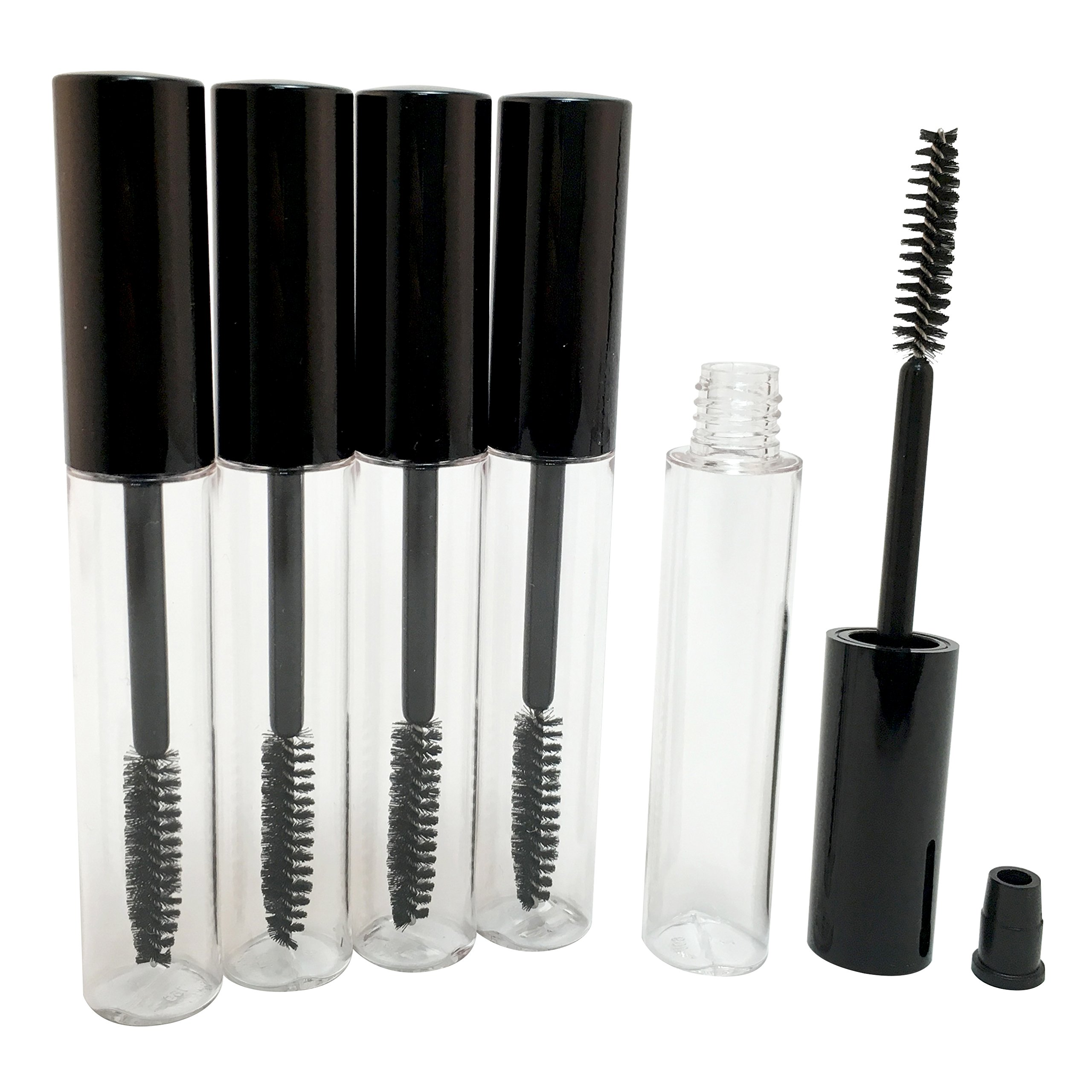 Plastic Fashionable Mascara Bottle 10 ml (Pack of 500) by TOPFASHION89