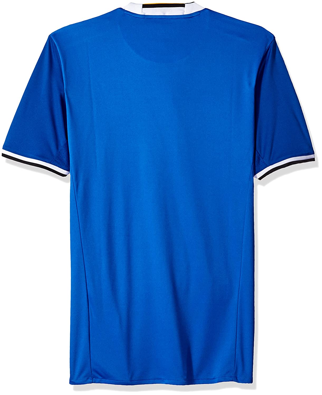 Camiseta de fútbol internacional para hombre - S1606LHAG810, Azul vivo/Blanco: Amazon.es: Deportes y aire libre