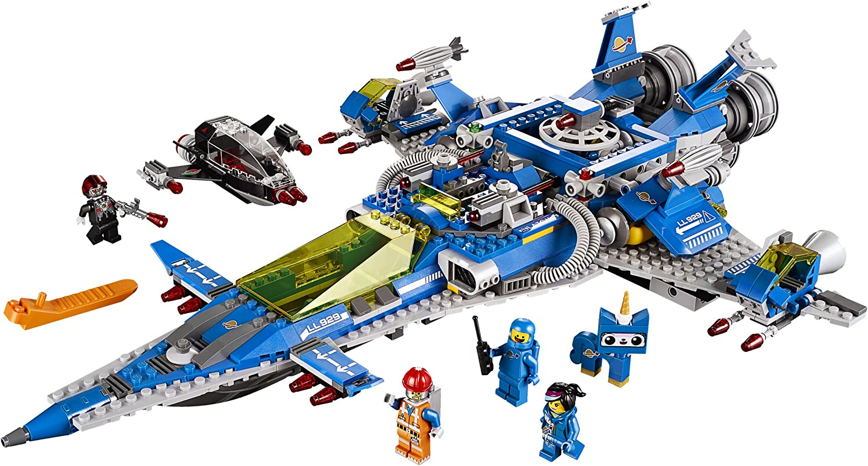 Spaceship 70816 SPACESHIP! LEGO Movie Bennys Spaceship