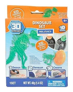 3D Maker Dinosaur Expansion Pack by 3d Magic: Amazon.es: Juguetes ...