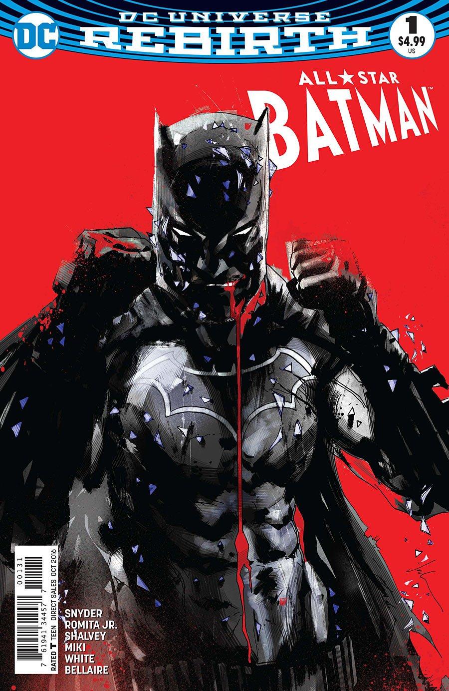 a104574760cb All Star Batman  1 Jock Var Ed  John Romita Jr