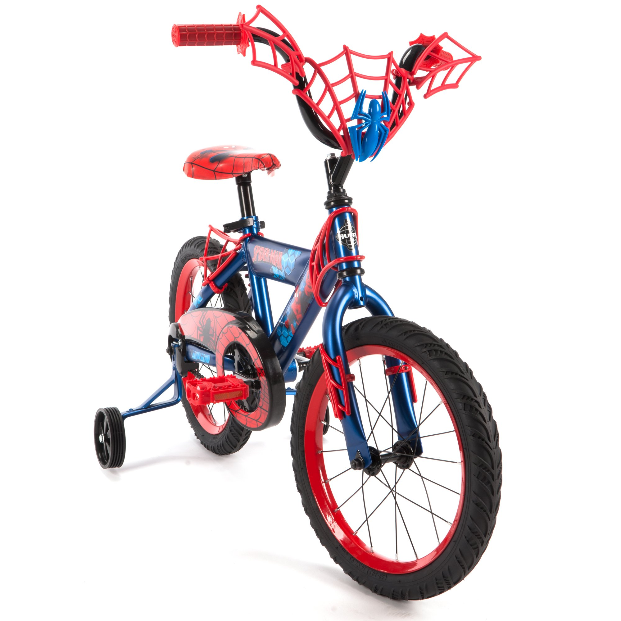 16'' Marvel Spider-Man Bike by Huffy, Ages 4-6, Height 42-48'' by Huffy (Image #2)