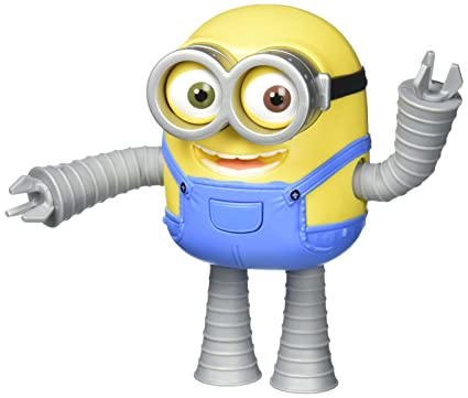 Despicable Me Robot Minion Bob Action Figure
