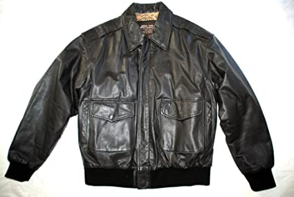 : US Army Air Force Flyers Men's Leather Bomber