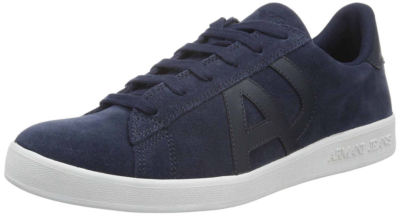 Armani Jeans 935565cc501 Herren Low-Top  43 EU|Blau (Blue Peacoat 32335)