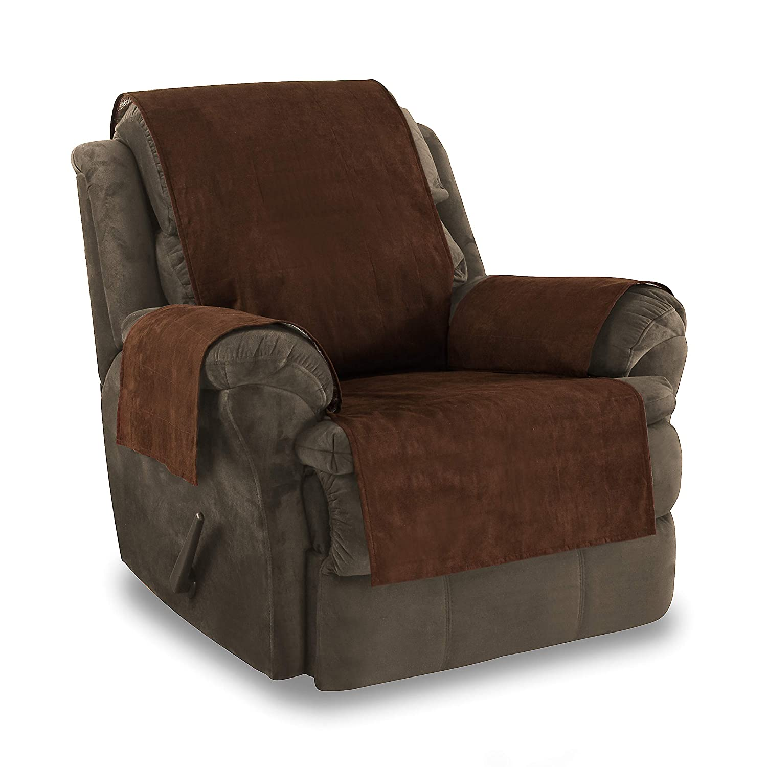 Excellent Details About Large Recliner Chair Arm Cover Xl Pet Furniture Slipcover Protector Anti Slip Customarchery Wood Chair Design Ideas Customarcherynet