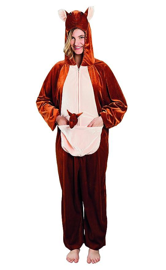 Disfraz Traje de peluche Animal max 1,80 m marrón: Amazon.es ...