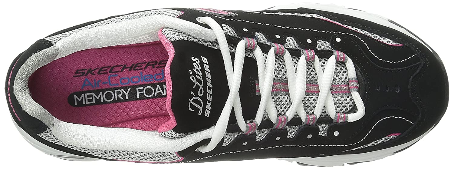 Skechers-D-039-Lites-Women-039-s-Casual-Lightweight-Fashion-Sneakers-Athletic-Shoes thumbnail 97
