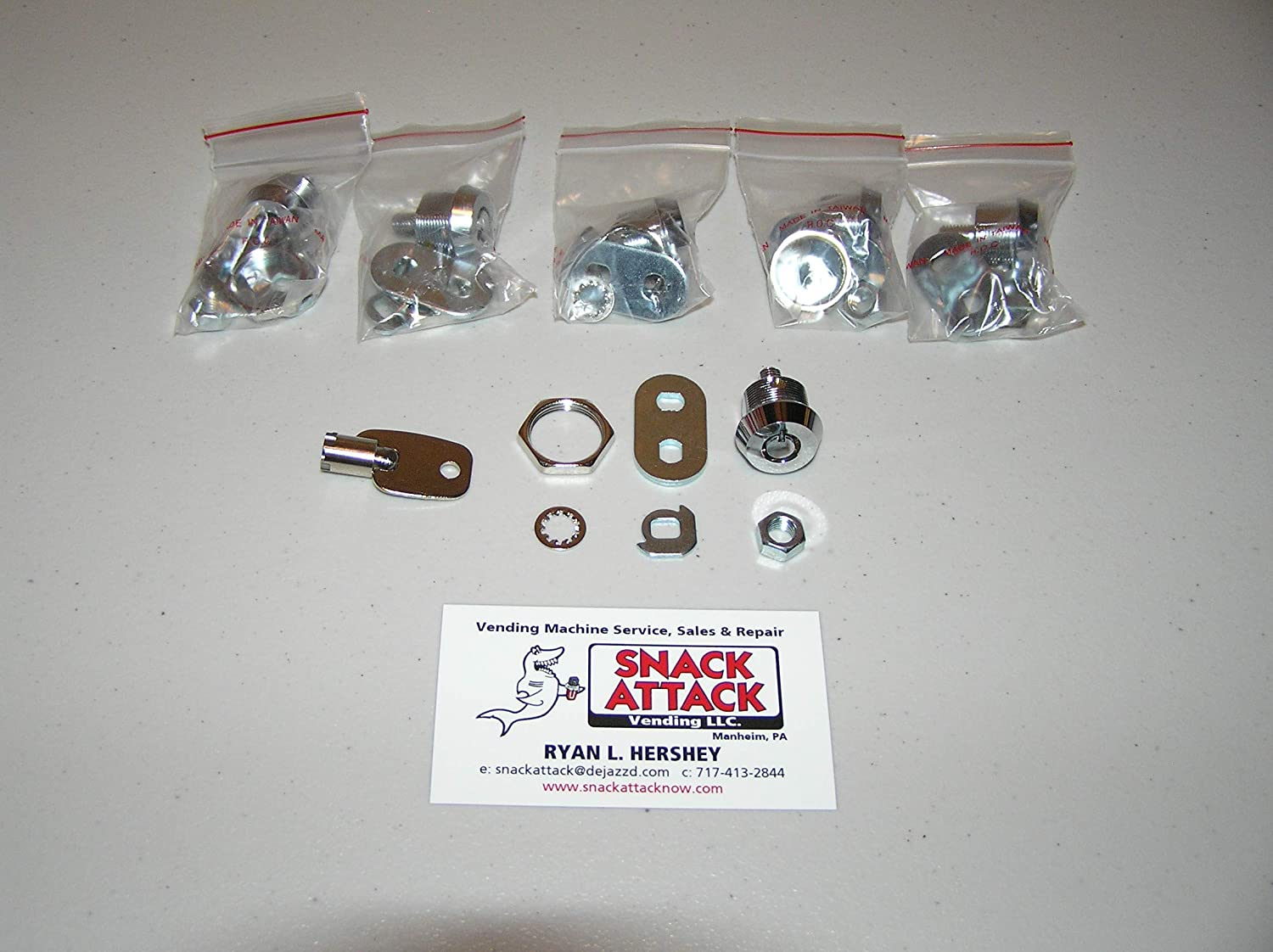 VENDSTAR 3000 REPLACEMENT KEY KIT Free Ship! Lost Your Keys?
