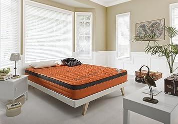 Living Sofa COLCHÓN COLCHONES VISCOELASTICO VISCOELASTICA MEDYCAL Therapy Carbono: Amazon.es: Hogar