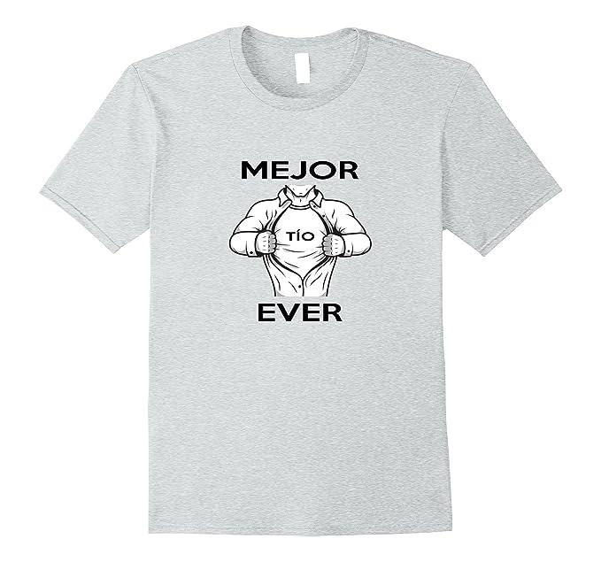 Amazon.com: Mens Mejor TIO Ever Espanol Best Uncle Ever Spanish Shirt: Clothing