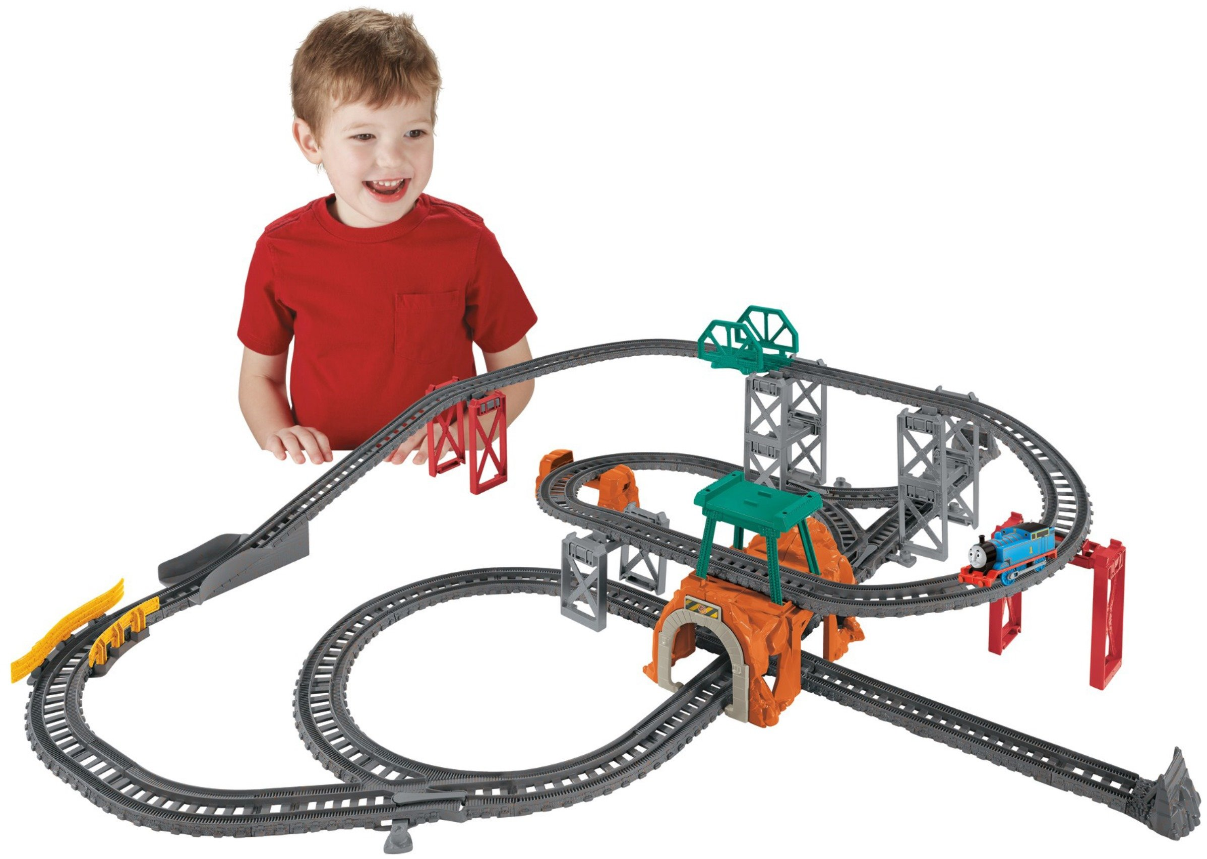 Thomas & Friends Fisher-Price TrackMaster, 5-In-1 Track Builder Set