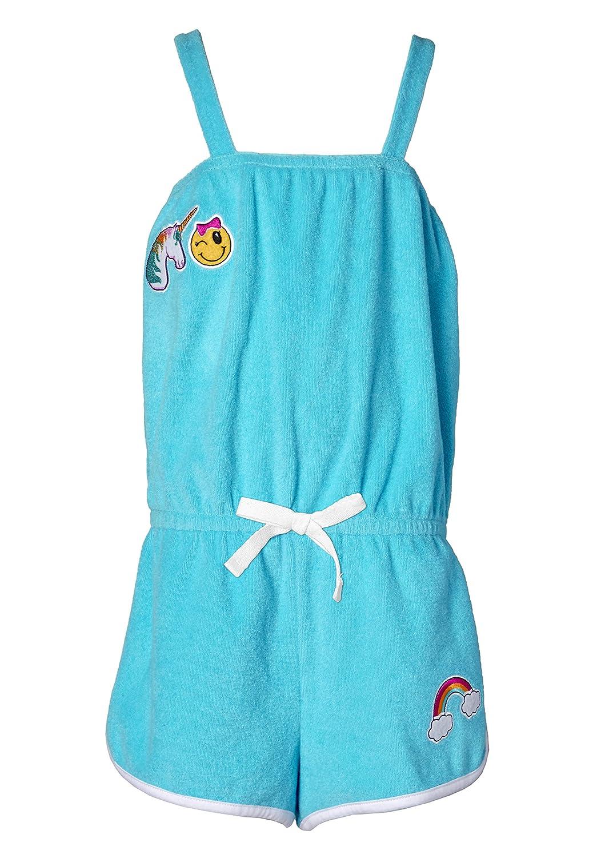 Sportoli Girls Warm Cotton Terry Beach Swimsuit Wrap Coverup Cover up Romper Swim Robe Swimwear