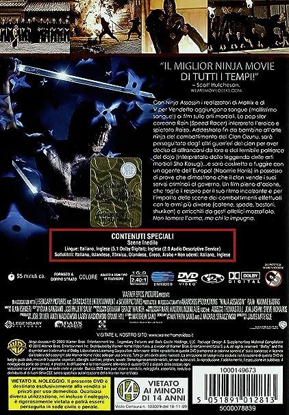 Ninja assassin [Italia] [DVD]: Amazon.es: varie: Cine y ...