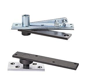 Rixson 370 626 370 x 626 Center Hung Pivot, Aluminum Finish