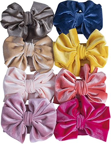 baby christmas velvet bow headband baby bows Velvet Hair Bow Velvet bows baby velvet headband velvet school girl bow velvet baby bow