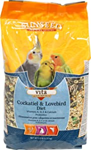 Vita Cockatiel Food Size: 2.5 Pound