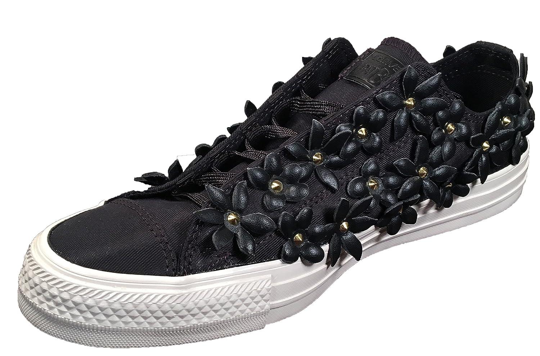 Converse Damen / Schuh Chuck Taylor Ox Schlangenhautmuster Silber / Damen Weißszlig; schwarz/Weiß/Bright Pink c2c80e