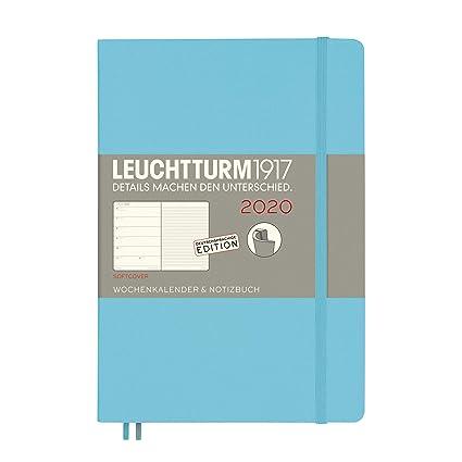 Agenda y cuaderno 2020, tapa blanda, tamaño A5, 12 meses, en ...