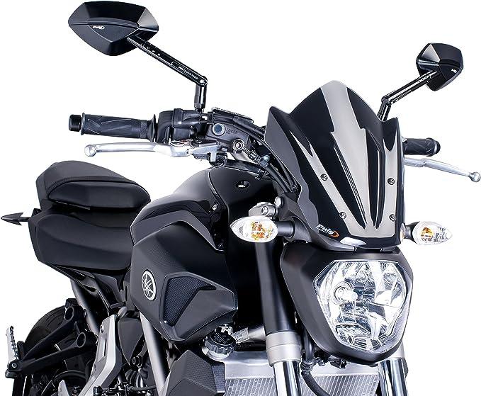 Puig 7015N Windshield Naked New Generation Sport, Black: Amazon.co.uk: Car & Motorbike