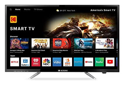 7f49cf1f692 Kodak 80 cm (32 Inches) HD Ready LED Smart TV Kodak 32HDXSMART (Black