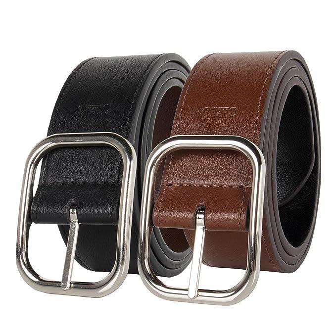 Amazon.com: Chaps - Cinturón de vestir reversible para mujer ...