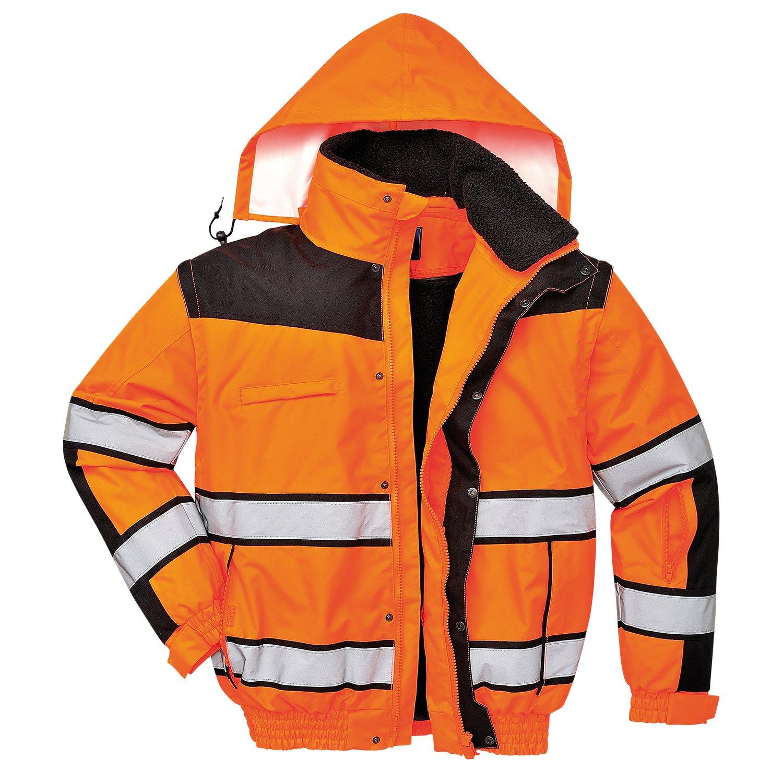 4in1 Warnschutzjacke Regenjacke Winterjacke Arbeitsjacke gleb oder orange Portwest 7121463