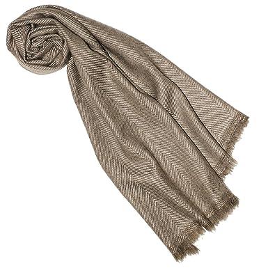 Lorenzo Cana Luxus Schal 100% Kaschmir flauschig leicht