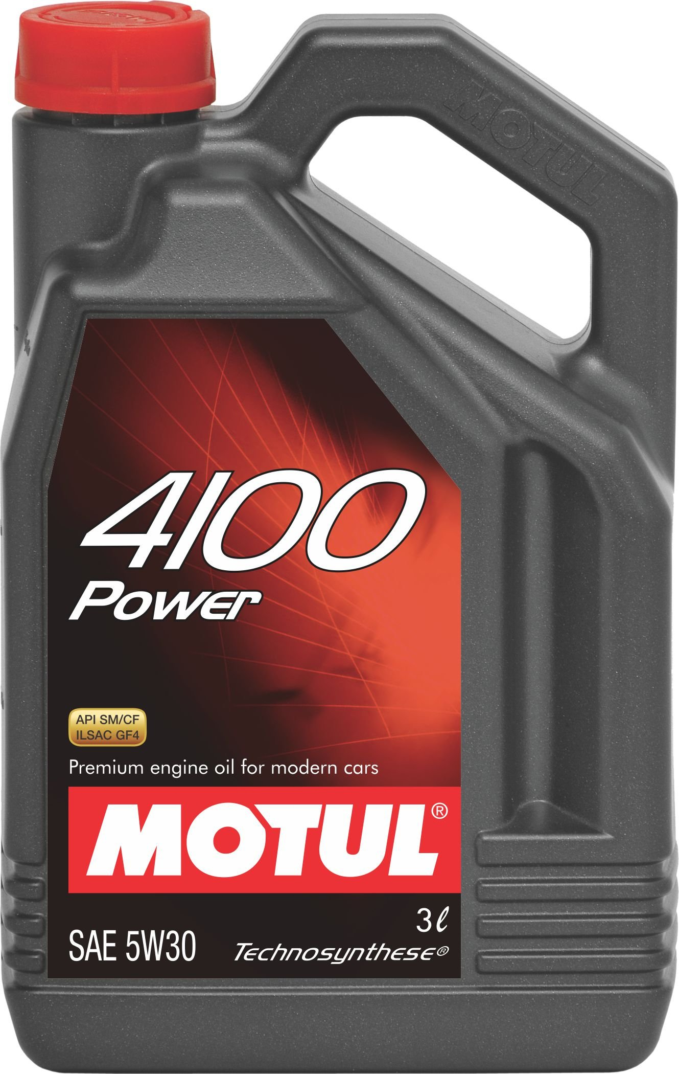 Motul 4100 Power SAE 5W30 Semi Synthetic Engine Oil for Cars (3 L) product image