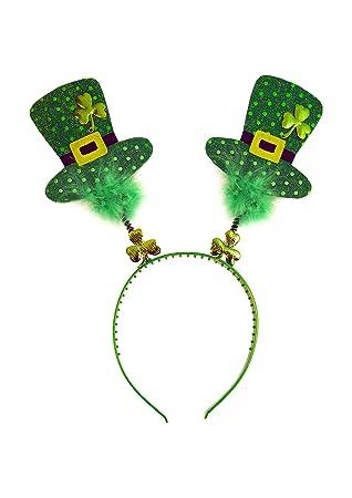 Día de San Patricio Trébol Irlandés Diadema  Amazon.es  Juguetes y ... 847f067c7214