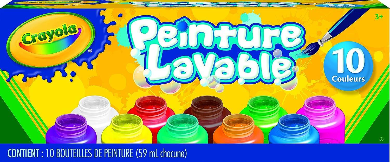 Crayola Kit de Peinture, 54-1205.0030, Multicolore